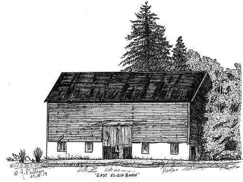 East Elgin Barn