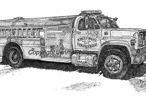 Fire Truck #12 - Norfolk, ON