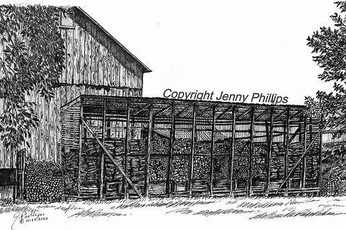 Corn Crib Re-purposed