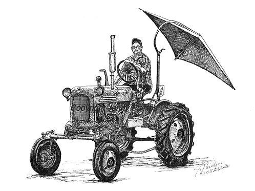 McCormick Farmall Club 148 w/Umbrella