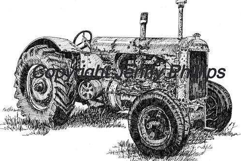 Old Veteran - 1938 Allis Chalmers
