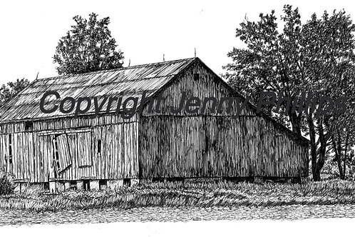 Old Barn, Dingman Drive