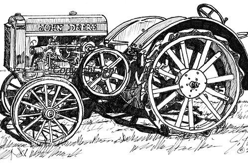 John Deere - Lugs/Steel Tires