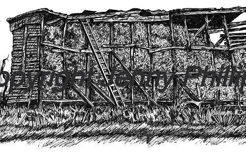Corn Crib - Middlesex