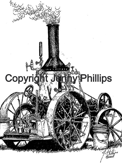 Walt's Upright Steam Engine