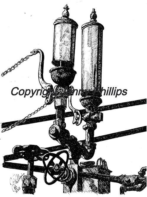Brass Steam Engine Whistles