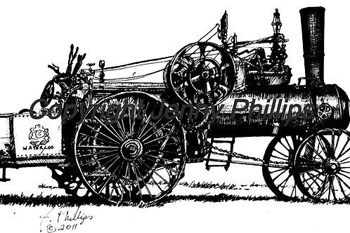 Waterloo Steam Engine