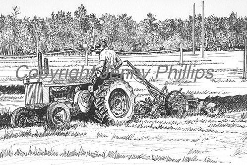 John Deere - Old & Drag Plow
