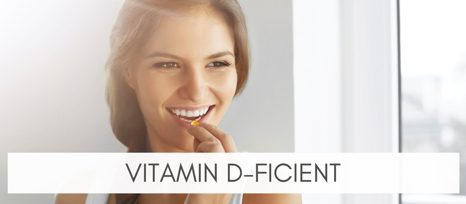 Are You Vitamin D-Ficient?