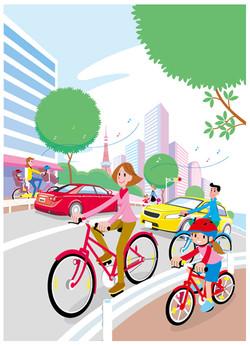 自転車安全利用