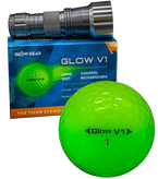 Glow in the dark golf balls