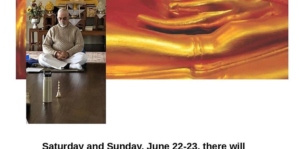 Meditation Retreat June 22 23, 2019