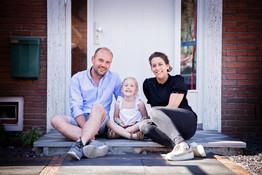 familie fotoshoot aan huis
