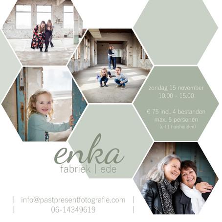 | Enka fabriek | mini shoots | laatste kans |