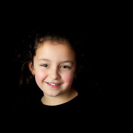| Vaderdag fotoshoot actie| zwarte achtergrond & 2 in 1 portret |