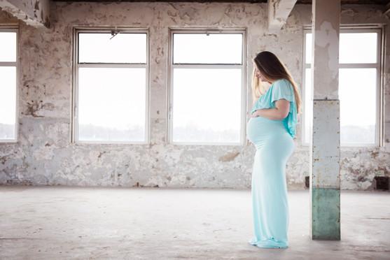 zwangerschapsshoot binnen