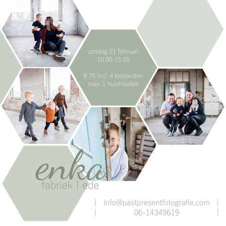 | Enka fabriek | mini fotoshoot |