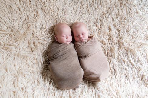 tweeling baby fotoshoot