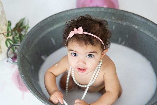 baby 1 jaar baddertijd