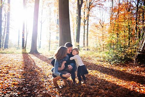 herfst fotoshoot