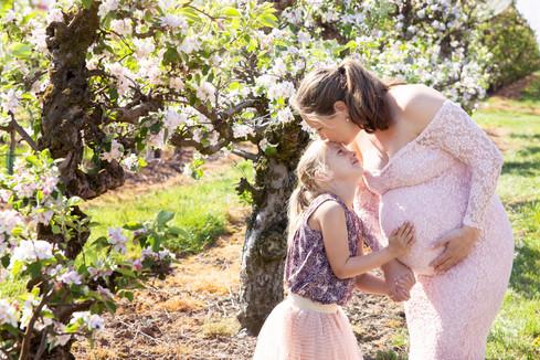 zwangerschapsshoot met kind