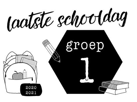 | Gratis download | Laatste schooldag |