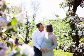 zwangerschaps fotoshoot jurk