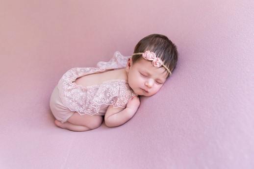 baby meisje fotoshoot