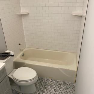 Bathtub Before