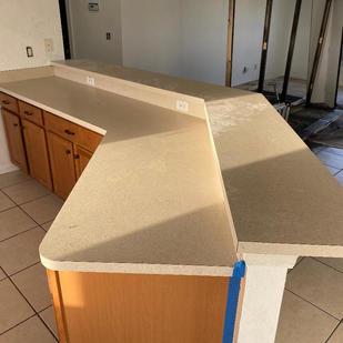 Countertop Before
