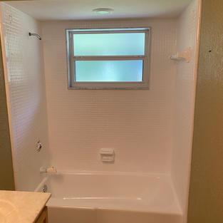 Bathtub & Tile After