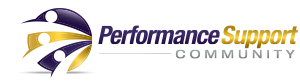 Performance Support Community logo, Performer Support