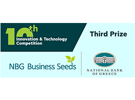 Trimsignal among top three winners at the 10th Innovation & Technology Competition of NBG 2020