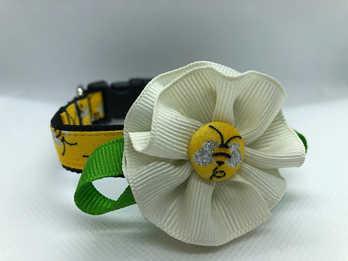 Bees Flower Collar