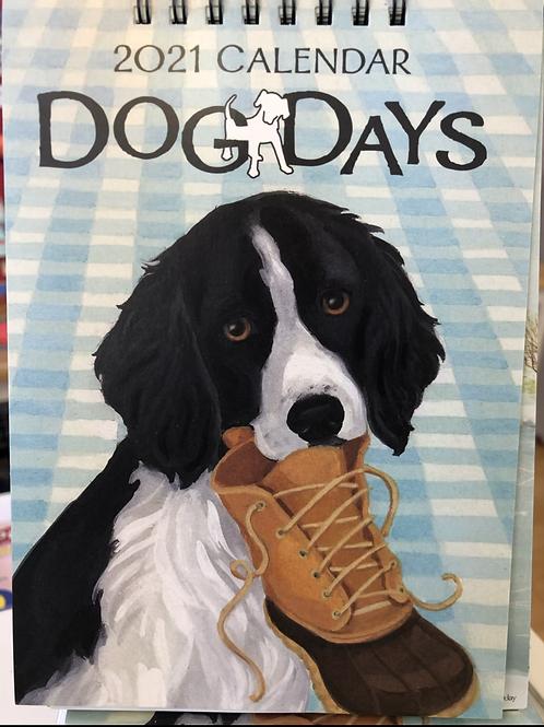 Dog Days 2021 Calendar