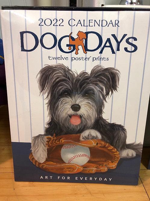 Dog Days 2022 Calendar