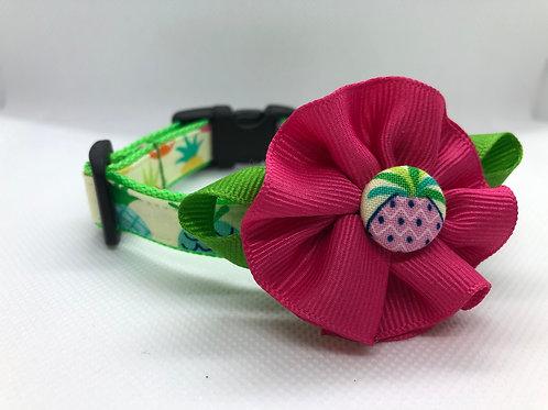 Pineapple Flower Collar
