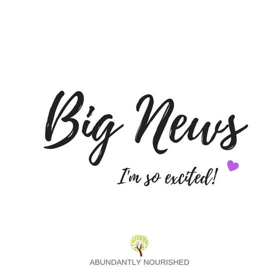 BIG NEWS & ANNOUNCEMENT