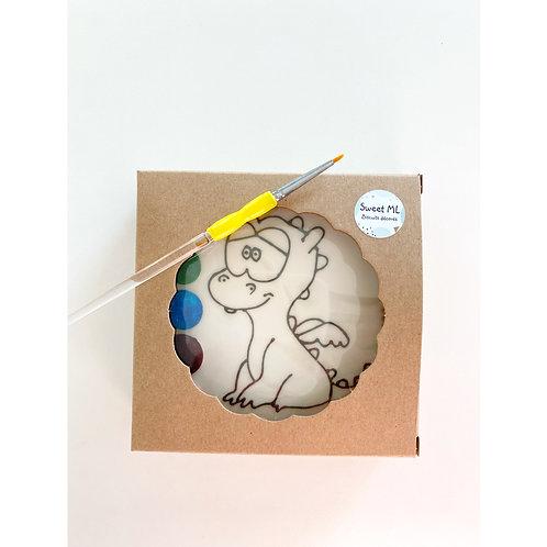 Biscuit à colorier