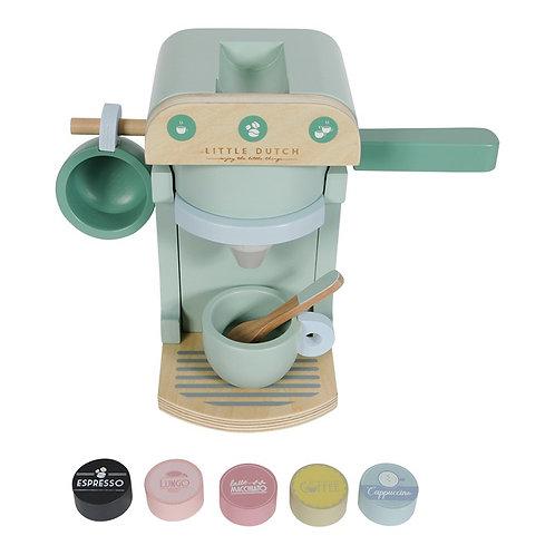 """Machine à café en bois """"Little Dutch"""""""