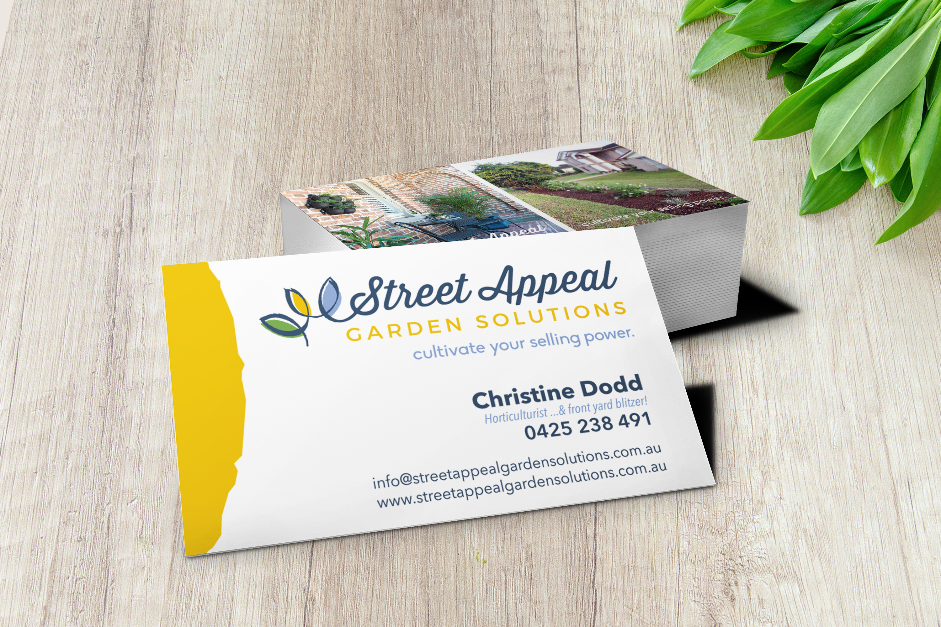Street Appeal business card