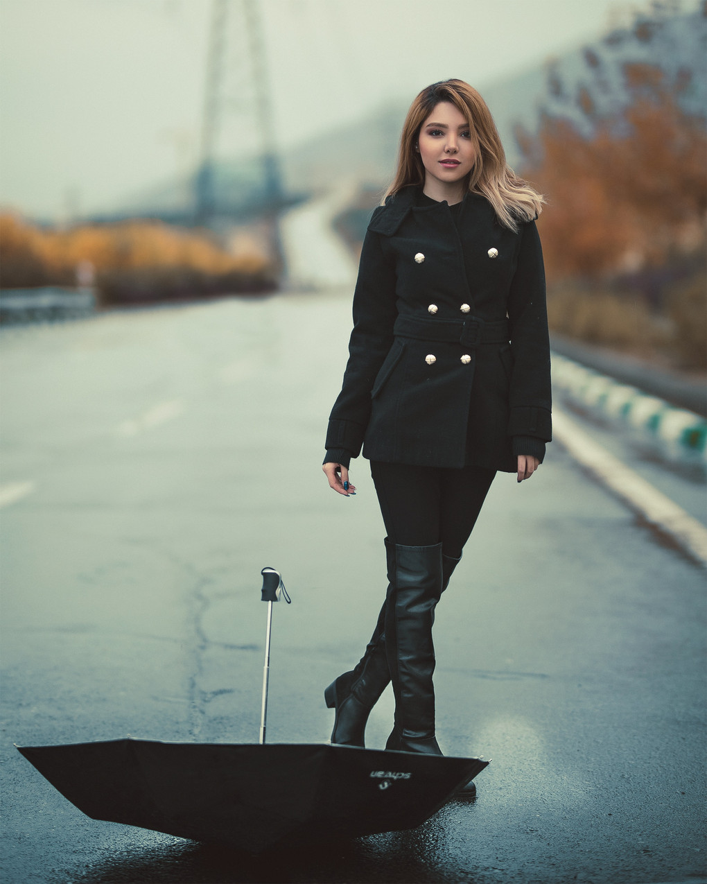 woman-in-black-double-button-jacket-2887