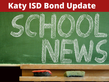 Katy ISD 2017 Bond Update