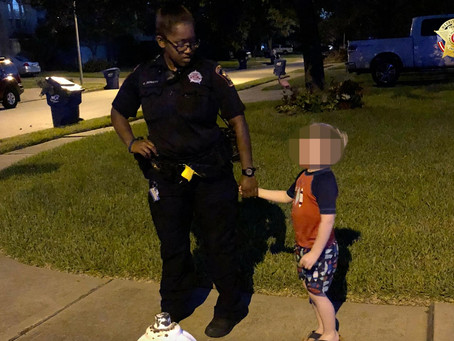 Lost 5-year-old Katy Boy Finds His Way Home with the Help of Deputy