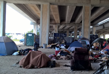 Katy Homeless Encampment Cleared Out Near IH-10 and Mason Road