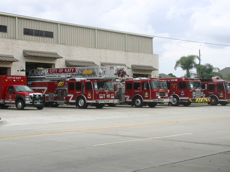 Unforgettable Exit Salute Held for Retiring Katy Fire Chief