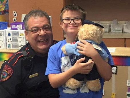 Katy ISD's Teddy Cop Program Helping Bring Happiness to Special Needs Children
