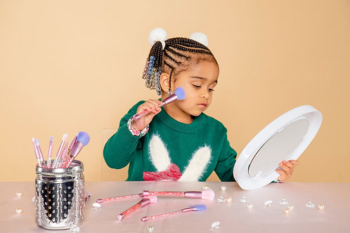 Little Ms. Beauty Queen 7 Piece brush Set