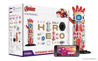 マーベル・アベンジャーズと一緒に組み立ててカスタマイズ!「Avengers Hero Inventor Kit」新登場!