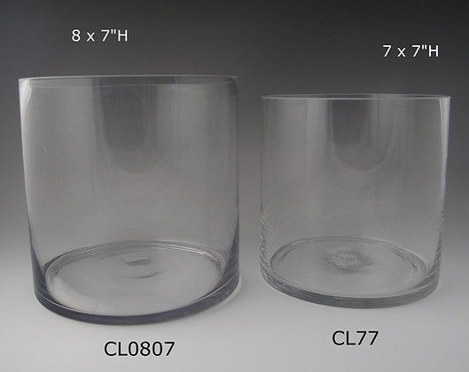 "7"" & 8"" Wide Cylinder -- 7"", 9.5"", 12"" Heights"